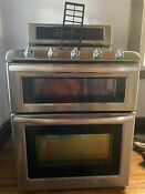 Kitchenaid By Whirlpool Gas Range Double Oven Pick Up Only
