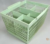 Vintage Dishwasher Basket Silverware Utensil Plastic 1970s Original Replacement