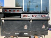 Vintage Commercial Wolf Gas Range 60 6 Burner Stove 2 Ovens Local Pickup Only