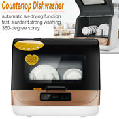 Countertop Dishwasher Machines For Home Bowl Brush Automatic Table Dishes Washer