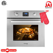 Gasland Chef 24 Built In Single Wall Oven With 9 Cooking Functions Digital