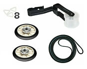 Dryer Repair Kit Belt Pulley Rollers For Maytag Medc300bw0 Medc300xw0 Medc215ew1