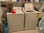 Ge Washer Gas Dryer In Great Condition