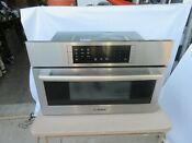 2014 Bosch 30 Inch Stainless Steel Microwave Convection Oven Hmc80251uc 01deal
