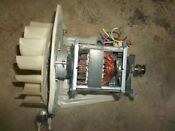 Ge Profile Dryer Motor Assembly We17m22 We17x10010 From Model Dpsb620ec2ww