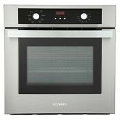 24 2 5 Cu Ft Electric True European Convection Single Wall Oven Stainless Steel
