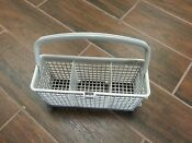 Ge Dishwasher Middle Silverware Basket Part Wd28x10037 Handle Wd28x10039