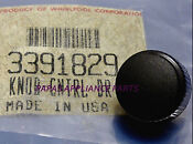 New Genuine Oem Whirlpool 3391829 Dryer Push To Start Knob Ships Out Fast