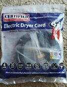 New Sealed Electric Dryer Cord 6ft 4 Wire 30amp Certified Electric 90 2024
