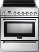 Verona Vefsie304pss 30 Self Cleaning Stainless Steel Induction Range