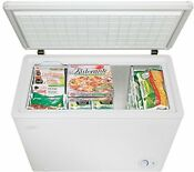 Danby Chest Freezer 7 2 Cubic Feet Kitchen Appliances Food Preservation White