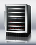 Summit Swc530lbist 24 Built In And Freestanding Wine Cooler 46 Bottle Capacity
