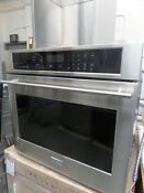 Ge Monogram 30 Electric Wall Oven Stainless Zet9050shss 5365