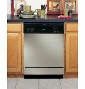 Brand New Ge Hotpoint Built In Dishwasher Silver