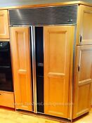 Used Sub Zero 690 Refrigerator 48 Inch Great Working Condition With Maple Panels