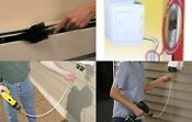 Dryer Duct Cleaning Brush Kit Rotary Vent Removal Tool Blockage Cobweb Vacuum