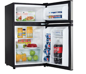 Danby 3 1 Cu Ft Mini Refrigerator In Stainless Steel Spacious Compact Freezer