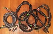 4 Prong Stove Cord 3 4 Prong Dryer Cord 1 Set Of New Washer Fill Hoses