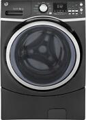 Ge Gfw450spkdg 27 Inch Front Load Washer With 4 5 Cu Ft Capacity Diamond Gray