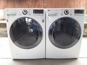 Lg Steam Front Loading Washer Wm3570h And Dryer Dlex3570v