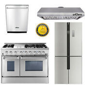 Thor 48 Dual Fuel 6burners 2oven 48 Hood Fan 36 Refridger 24 Dishwasher