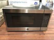 Ge Jes1072shss 0 7 Cu Ft Capacity Countertop Microwave Oven Stainless Steel