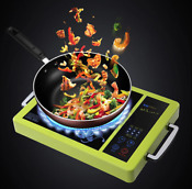 Burner Cooktop Countertop 1800w Portable Induction Gold Duxtop Digital Panel