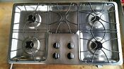 Ge Profile 36 Stainless 4 Burner Gas Cooktop Jgp628sej1ss Used