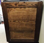 Monogram 30 Inch Built In Freezer Refrigerator Apartment Size Wood Face