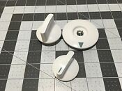 Ge Washer Dryer Control Knobs P Wh01x10314 And P Wh01x10313