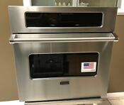 Viking 30 Built In Stainless Steel Electric Wall Oven Model Veso5302tss