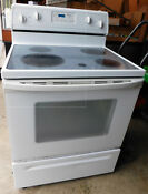 Whirlpool Electric Kitchen Range Smooth Top Self Cleaning Oven