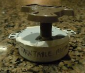 Turntable Motor By36m1a6 Part Number Wb26x10136 Coupler From Ge Microwave