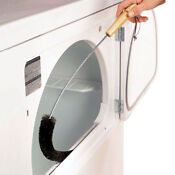 Electric Vent Gas Fire Refrigerator Lint Clothes Dryer Trap Brush Cleaner Top