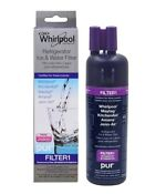Genuine Whirlpool W10295370 W10295370a Ice Water Refrigerator Filter Pur