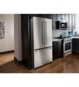 Kitchenaid Krff305ess 25 Cu Ft French Door Refrigerator