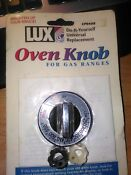 Lux Cpr408 Chrome Gas Oven Knob By Lux Products Corp