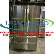 Lg Lmxs28626s 27 8cf Refrigerator 4 Door French Door Stainless Steel