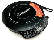 Precision Nuwave Pic Pro Highest Powered Portable Induction Cooktop 1800w Black