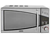 New De Longhi 800w Standard Microwave P80t5a Stainless Steel Simple To Use