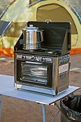 Portable Bbq Barbecue Camp Oven Outdoor Camping Range Stove Propane Gas Pool New