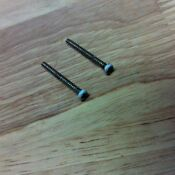 Ge General Electric Microwave Oven 2 Grille Mounting Screws Wb01x10068 White