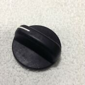 Whirlpool Gas Range Oven Black Knob Part 3196064