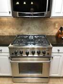 Fisher And Paykel Dcs 305 Professional Series 30 In Gas Range