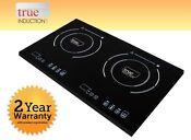 Cooktop True Induction Ti 2b Double Burner Cook Top Counter Inset Model Ti2b