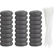 Lint Traps Laundry Sink Drain Hose Screen Filter For Washing Machine 24 Pieces