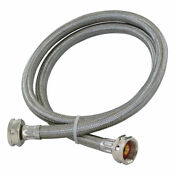 Watts 3 4in X 5ft Fgh Stainless Steel Washing Machine Hose With Connectors