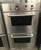 30 Thermador Stainless Steel Double Oven Built In 000534