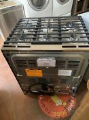 0003499 Ge Caf Series 30 Slide In Front Control Gas Double Oven With Convecti