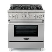 Cosmo Cos Grp304 30 Professional Gas Range With Convection